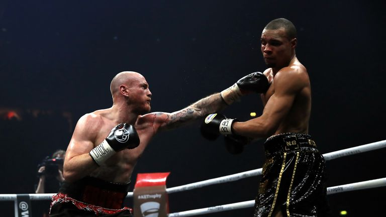 Groves made the more positive start and Eubank struggled to recover