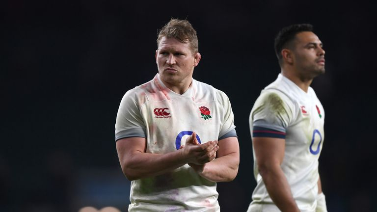 Dylan Hartley helped England hold off Wales at the weekend at Twickenham