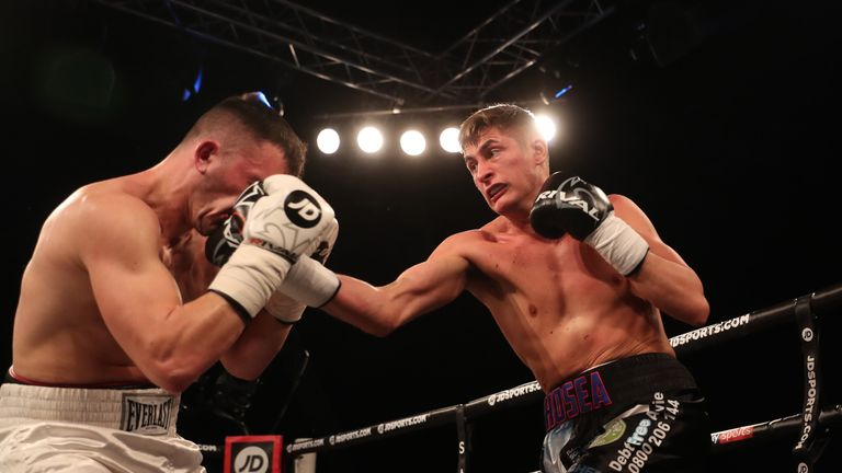 Burton could receive a rematch with Buglioni