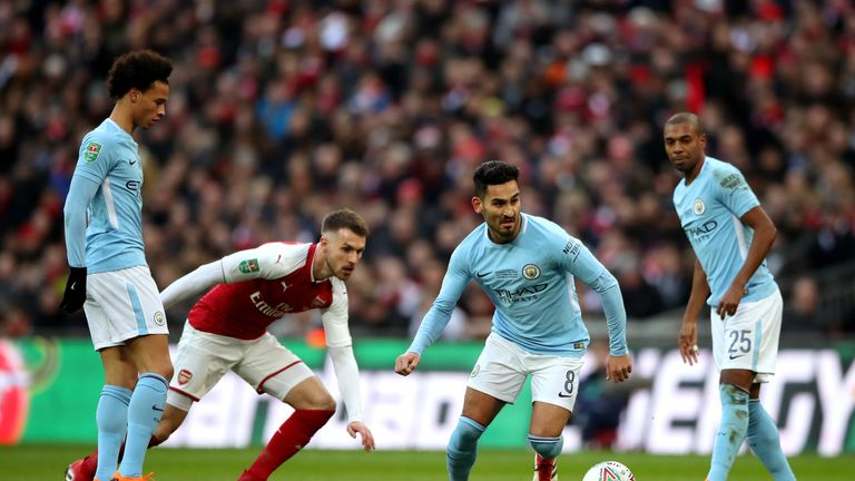 Ilkay Gundogan believes Arsenal will be ready to face Man City, so soon after the final