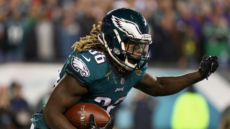 British-born running back Jay Ajayi will return to Wembley this year with the Philadelphia Eagles