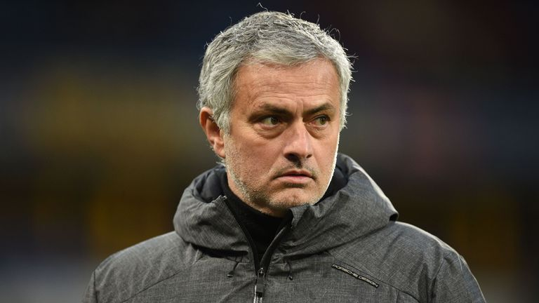 Jose Mourinho is in his first Champions League campaign with Manchester United