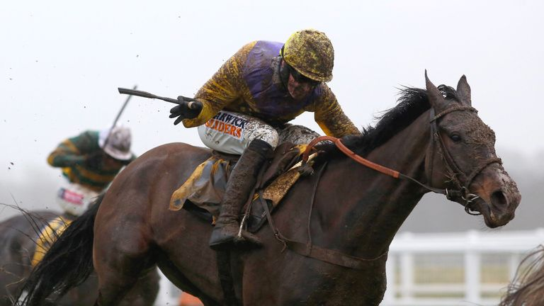 Kalashnikov: Leading fancy for the Sky Bet Supreme