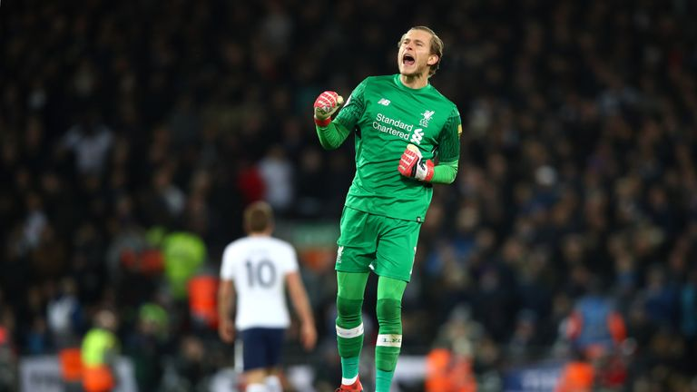 Phil Thompson praised Karius' recent performances