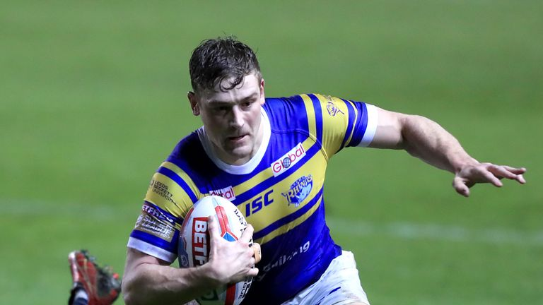 Jimmy Keinhorst will remain with Widnes Vikings after extending his loan deal with the club