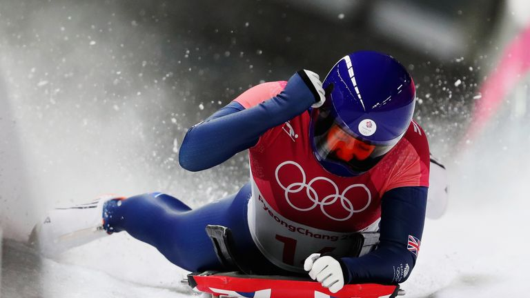 Yarnold defended the title she won four years ago in Sochi