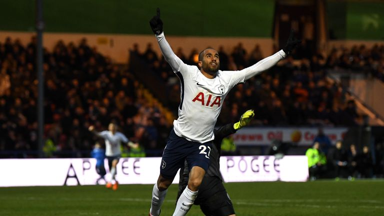 Lucas Moura believes Spurs can go all the way in Europe after their performance against Juventus