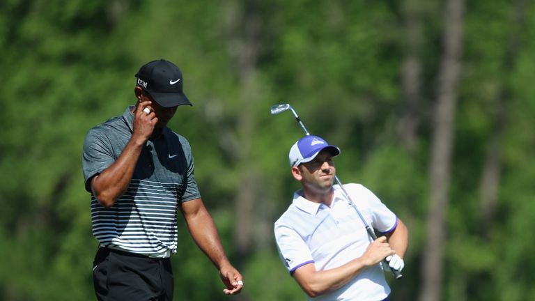 Garcia is looking forward to seeing Tiger Woods return to Augusta