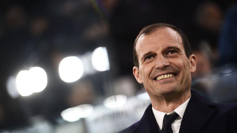 Allegri has won three Serie A titles with Juventus