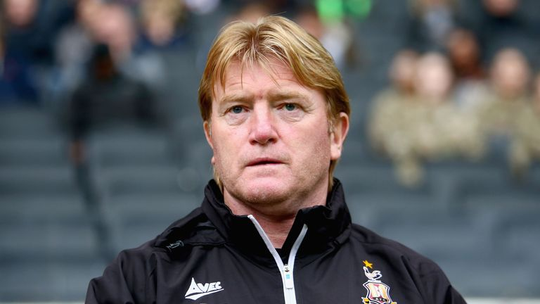 Stuart McCall becomes Bradford boss for third time