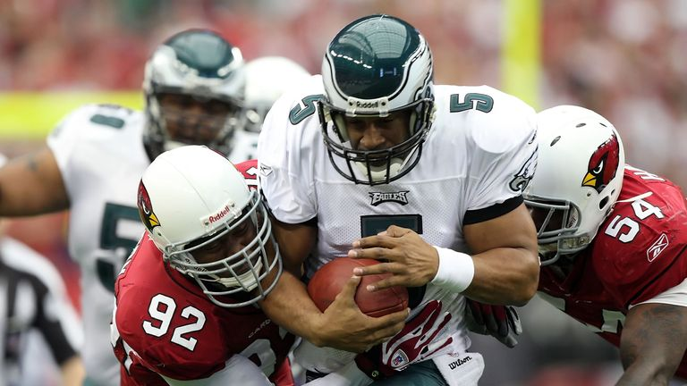 The Eagles couldn't get over the hump with Donovan McNabb at the helm, even in a 2008 season that looked special.