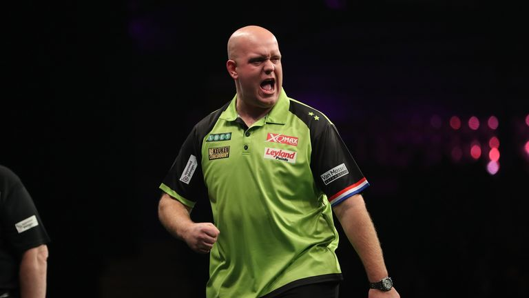 There will be no Michael van Gerwen in Exeter after heavy snow and Storm Emma wreak havoc across the UK