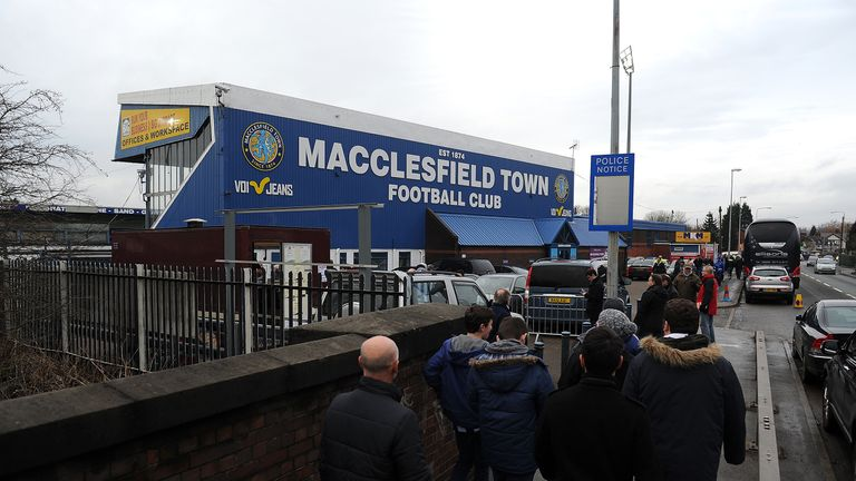 Macclesfield Town is prospering on the pitch thanks to the generosity of staff
