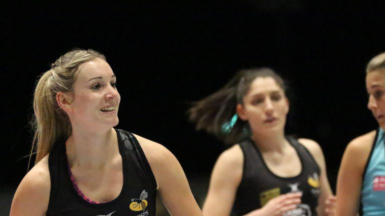 Haythornthwaite and Wasps maintained their 100 per cent record with victory over UWS Sirens on Thursday