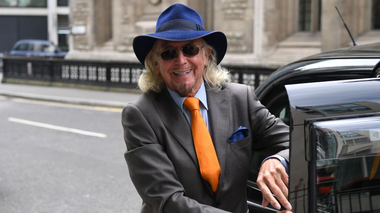 Owen Oyston arrives at the High Court in central London