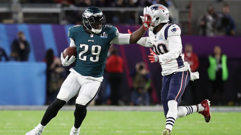LeGarrette Blount has won back-to-back Super Bowls for the Patriots and then the Eagles against his former team