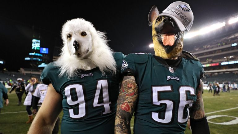 After the Eagles  Super Bowl win last season 24852cf1d83e1
