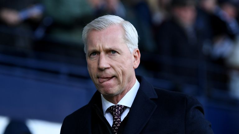 Alan Pardew said he hopes to remain in charge at West Brom, though conceded that is not his decision