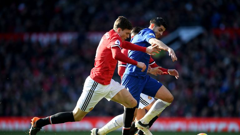 Lindelof started Manchester United's 2-1 win over Chelsea at Old Trafford last weekend