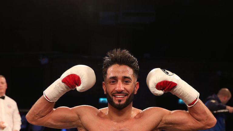 Qais Ashfaq sealed a shutout points victory in Manchester
