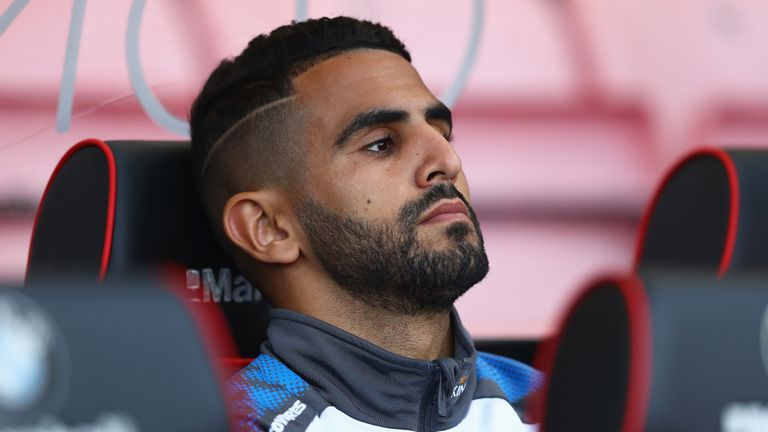 Mahrez missed two Leicester matches during his absence from training, but returned for their away game at Manchester City in February