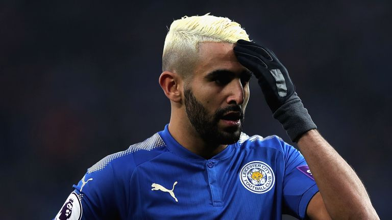 Riyad Mahrez was denied a Deadline Day move to Manchester City