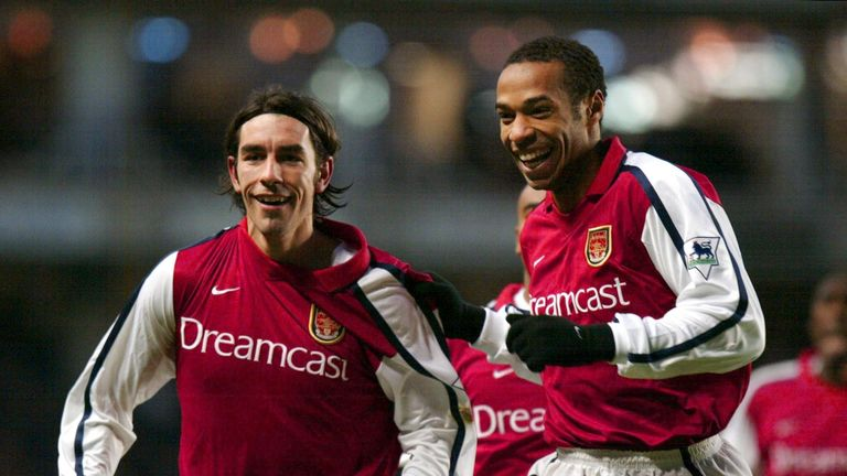 Cole enjoyed playing with Pires and Henry