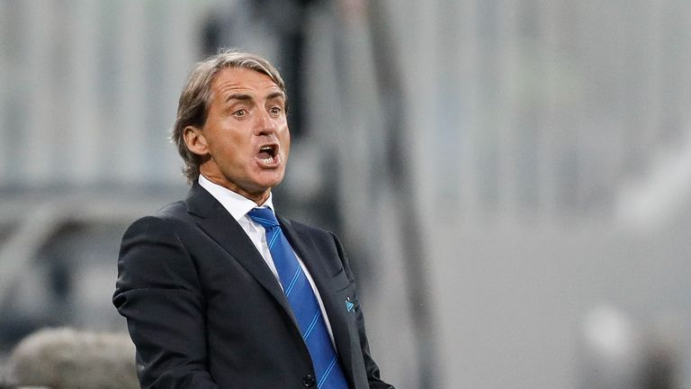 Sarri was fined for alleged homophobic abuse aimed at Roberto Mancini