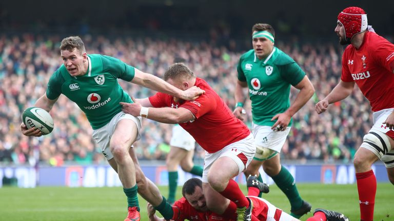 Chris Farrell was man of the match in victory over Wales, but sustained a serious knee injury in training the week after