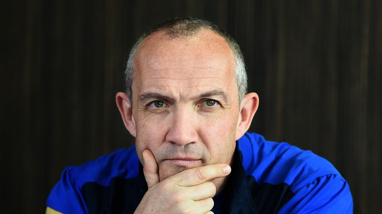 Italy head coach Conor O'Shea is building for next year's World Cup