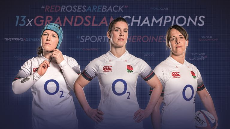 You can watch all of England's women's Six Nations games live only Sky Sports