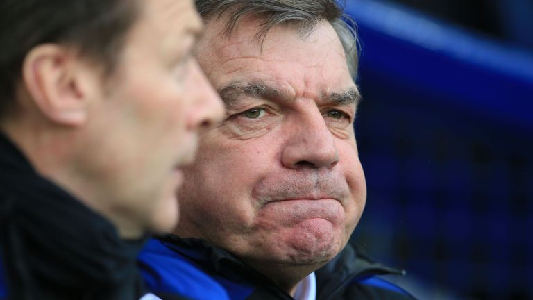 Under Allardyce, Everton have got back into the Premier League's top 10