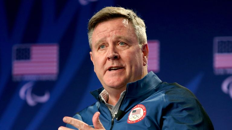 Scott Blackmun is stepping down as chief executive of the United States Olympic Committee