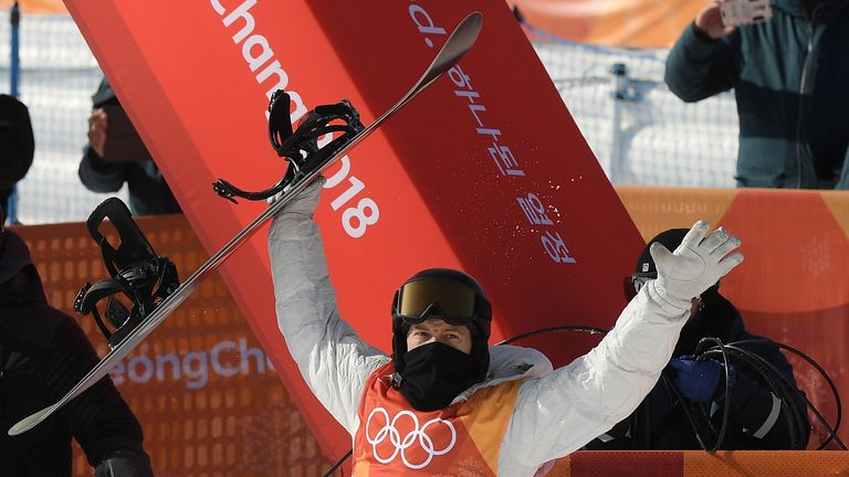 White's win means the United States have won all four snowboarding golds awarded so far at the Games