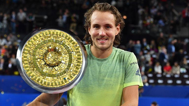 Lucas Pouille secured his fifth ATP title with victory at the Open Sud de France