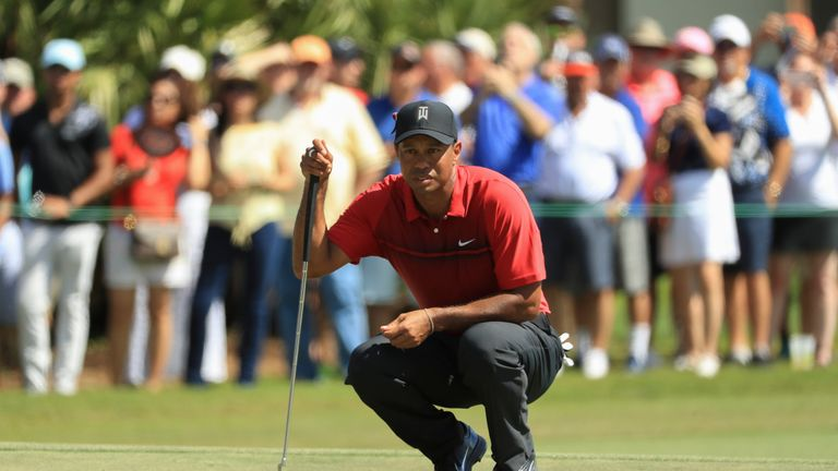 Woods finished in 12th spot at PGA National