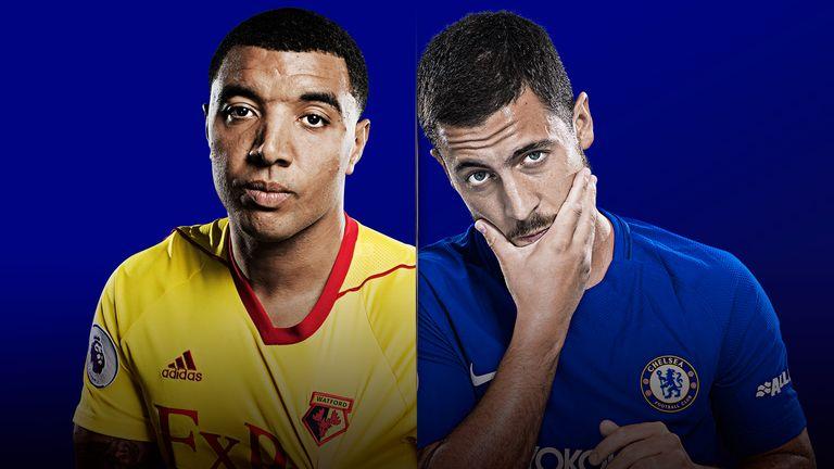 Watch Watford v Chelsea live on Monday Night Football