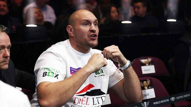 Tyson Fury has been training for a comeback fight this year
