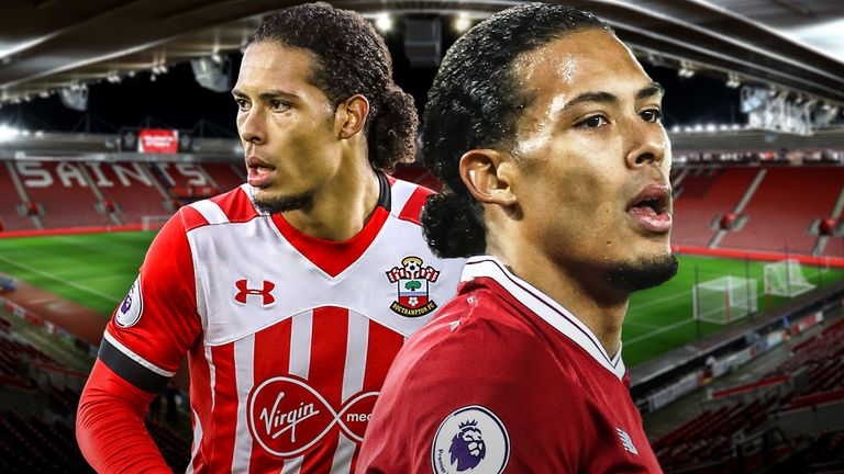 Virgil van Dijk returns to St Mary's with Liverpool on Super Sunday