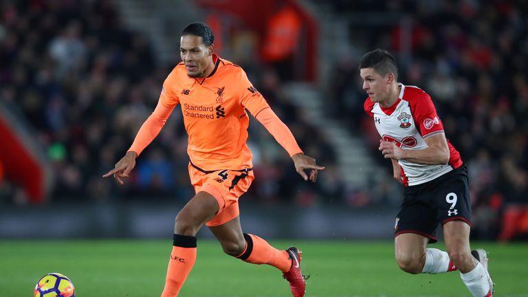 Virgil van Dijk impressed against his former club Southampton on Sunday