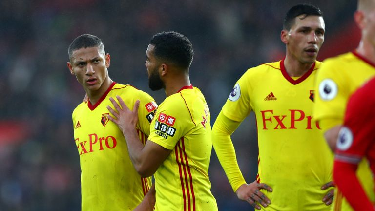 Richarlison's form has dipped after an impressive start