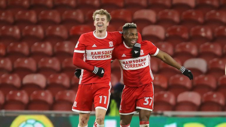 Patrick Bamford (L) will be assessed by Middlesbrough