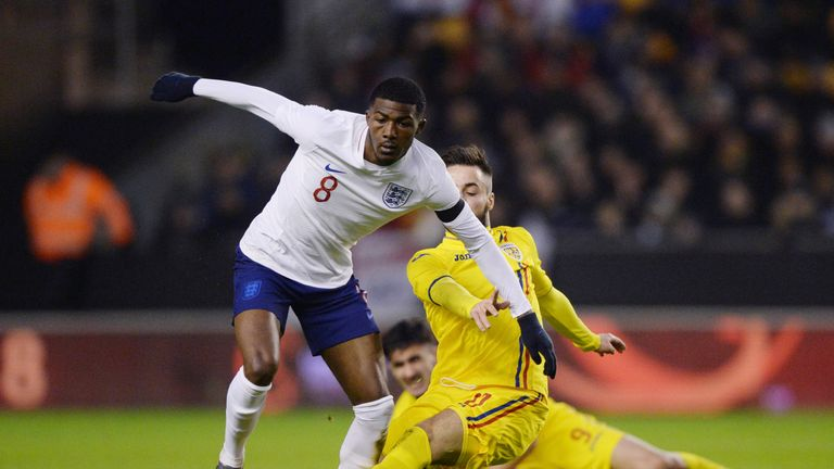 Maitland-Niles has featured four times for England U21s this season