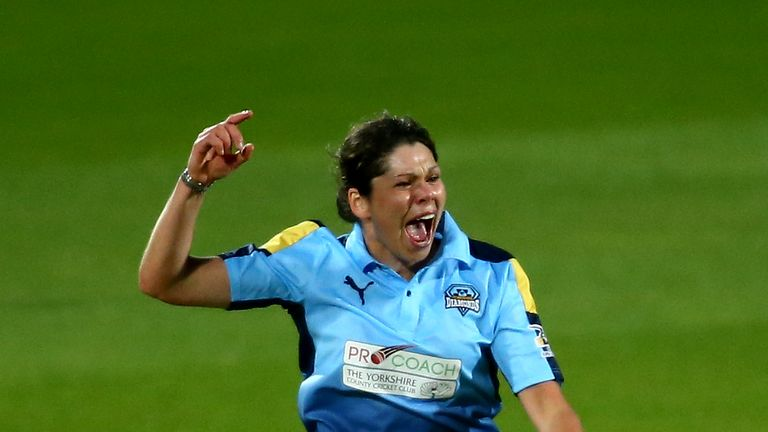 Alice Davidson-Richards was included in England's squad for the first time along with Smith and Katie George last month