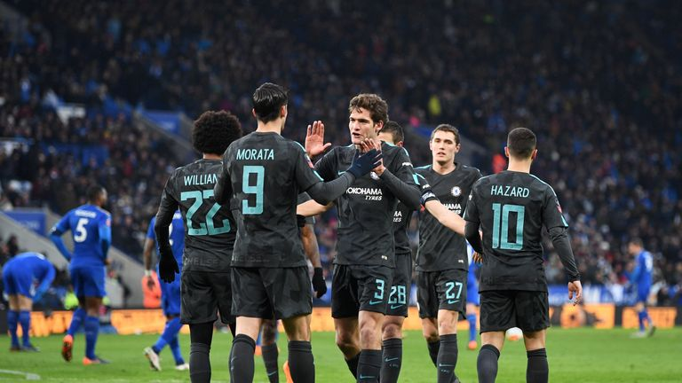 Marcos Alonso has backed Alvaro Morata to get back to his best