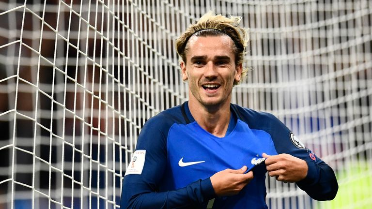 Antoine Griezmann: Backed to guide France to glory