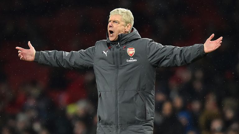 Paul Merson claims the Arsenal players are hiding behind Arsene Wenger