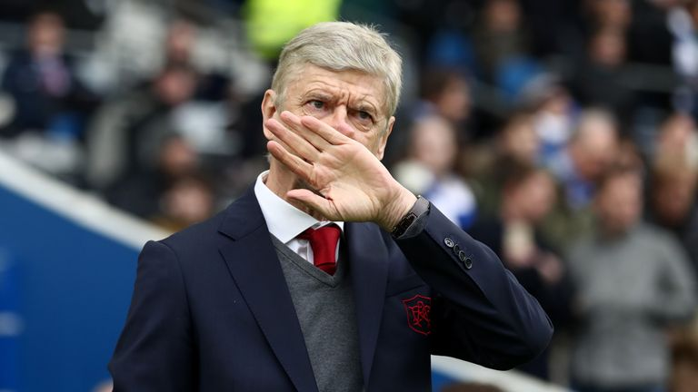 Arsene Wenger is facing calls to quit as Arsenal boss