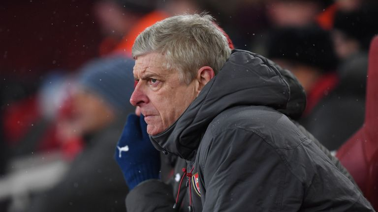 Arsenal have lost four of their last six matches in all competitions