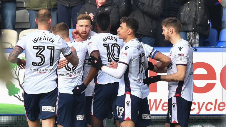 Bolton's players have gone on strike over unpaid wages